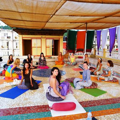 Yoga in Goa Papa Jolly