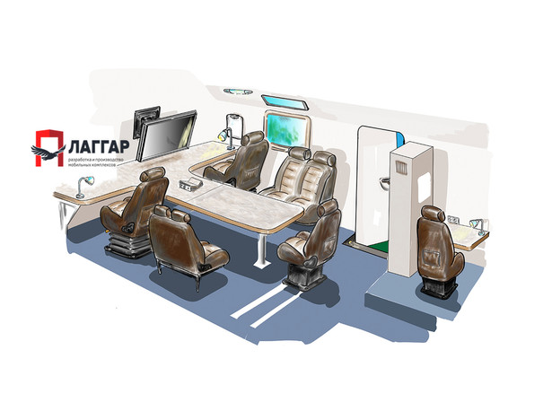 Производство передвижных комплексов на грузовом шасси