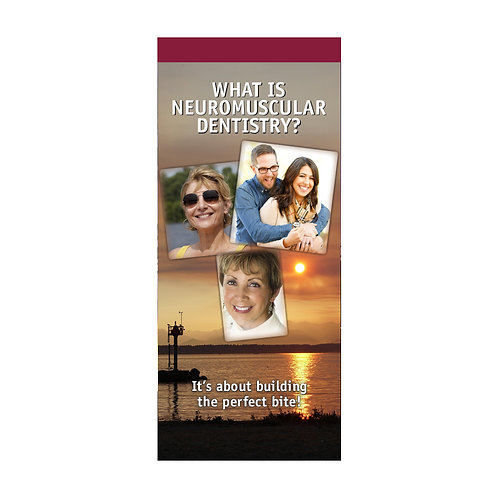 What Is Neuromuscular Dentistry (Pkg. of 100) #1275