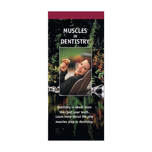 Muscles In Dentistry (Pkg. of 100) #1280