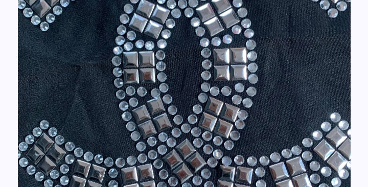 """CC Silver """"Metal And Bling"""" Shirt"""