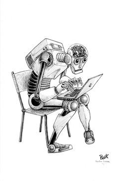 Robot Informático trama