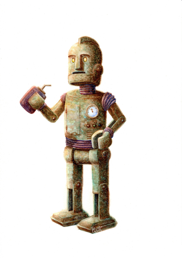 Robotito oxidado