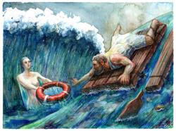 Ulises salvado por Ío