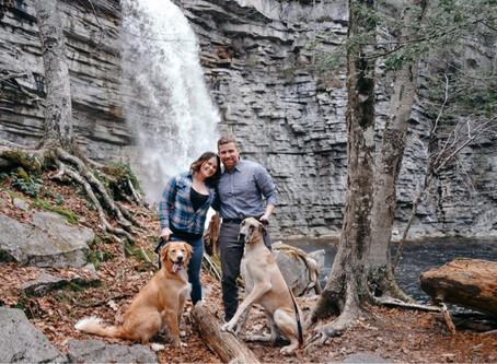 Climbing rocks and chasing waterfalls