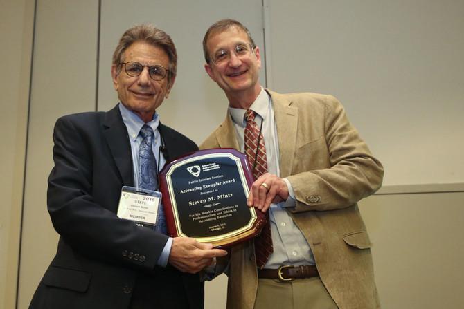 Ethics Sage Receives Accounting Exemplar Award
