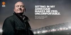 Man Utd - Season Ticket campaign