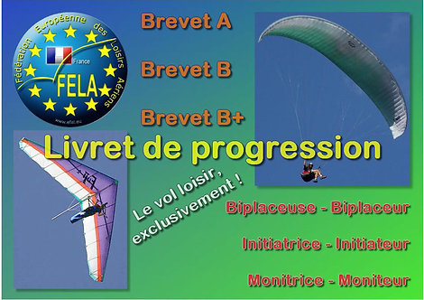 Livret de progression (par 15)