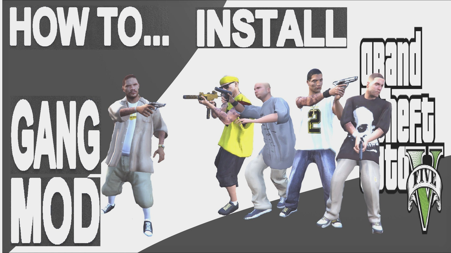 HOW TO DOWNLOAD, INSTALL,SET-UP,PLAY GANG MOD ON GTA 5 (step by step