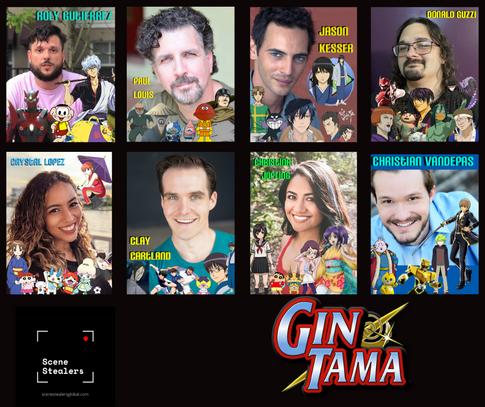 Cast of Gintama