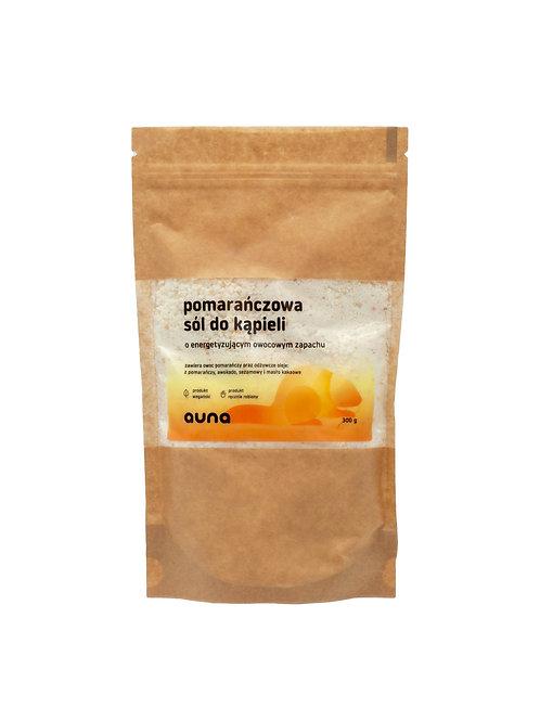 sól do kąpieli pomarańczowa