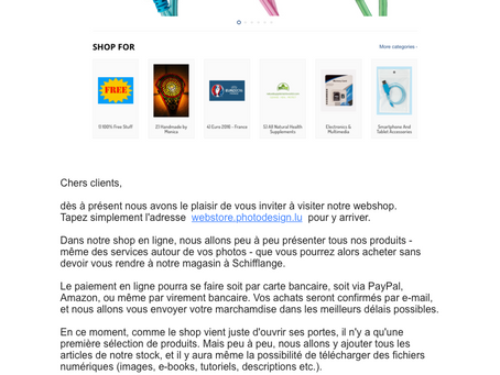 Nouveau Webshop