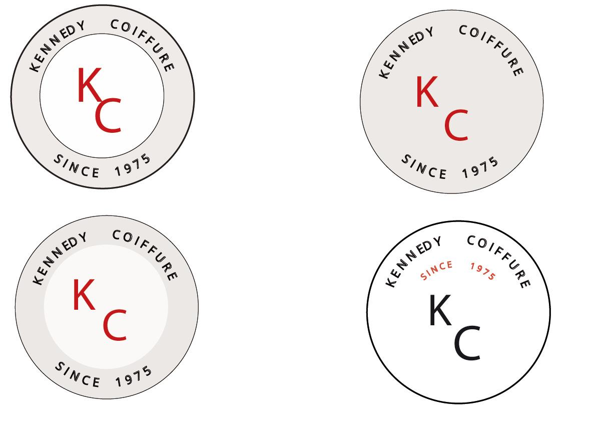 Logos Kennedy Coiffure