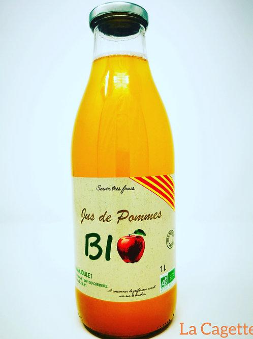 Jus de pomme bio, Nectar d'abricot bio, Nectar de kiwi bio, Nectar de nectarine