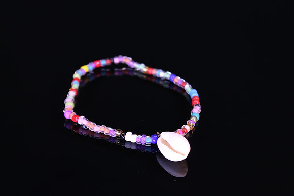 Colorful Shell Anklet