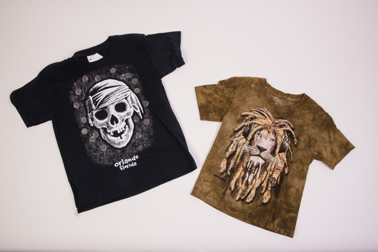 Skull and Lion Orlando t-shirts