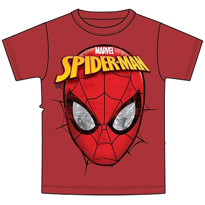 "Marvel's ""Spiderman"" Youth Boys Red Spidey Eyes T-Shirt"