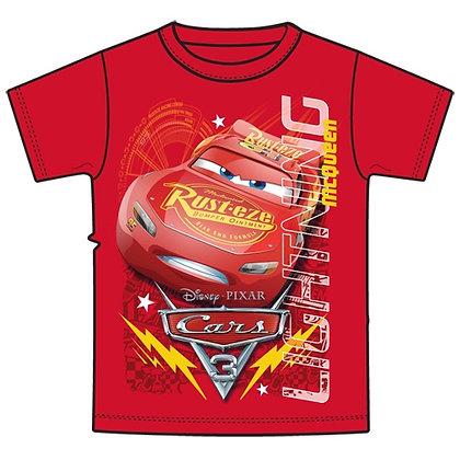 """Disney's Cars 3 """"Lightning McQueen"""" Boys Red TShirt"""