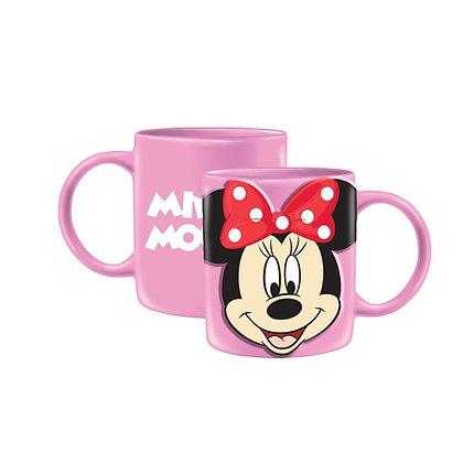Disney's Minnie Mouse Pink Full Face 11 Oz. Mug