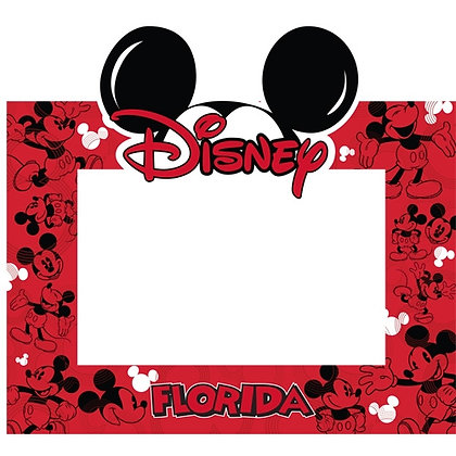 Disney's Mickey Ears 4x6 Picture Frame
