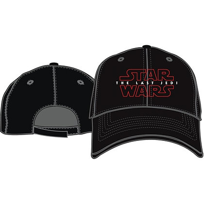 "Disney's ""Star Wars"" Last Jedi Adult Hat, Black"