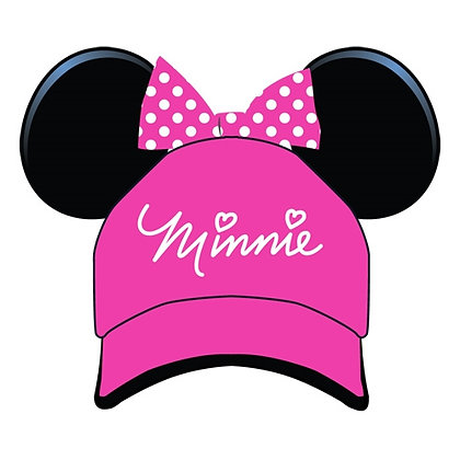 "Disney's ""Minnie Mouse"" Pink Bow Ear Hat"