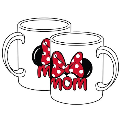 "Disney's Minnie Mouse ""Mom"" White Jumbo 20 oz. Mug"