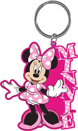 Disney's 'Minnie Mouse' Pink Polka Dot Keychain