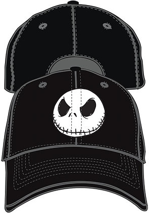 Nightmare Before Christmas Adult Black Baseball Hat