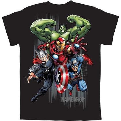 "Marvel's ""Avengers"" Captain America Ironman, Hulk Youth Boys T-Shirt"