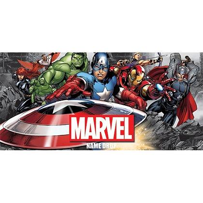 "Marvel's ""Avengers"" Charge Group 28"" X 58"" Beach Towel"