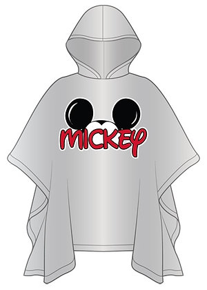 "Disney's ""Mickey Mouse"" Ears Rain Poncho - Adult Size"