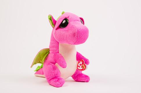 Beanie Babies pink dragon