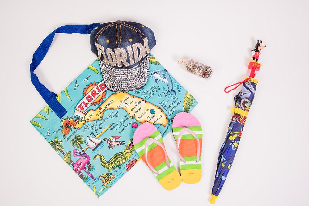 Florida Tourist Kit at Treasure Island Gifts in Orlando, Florida