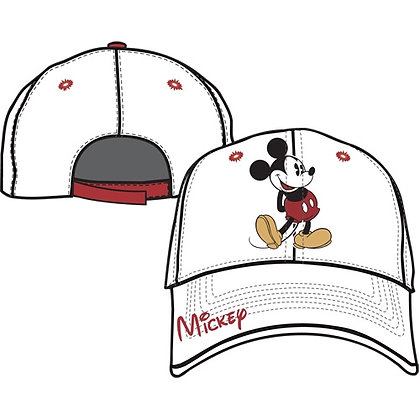Disney's Mickey Mouse Adult Hat, Signature on Brim
