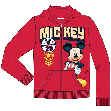 "Disney's ""Mickey Mouse"" Toddler Boys Zipper Hoodie"