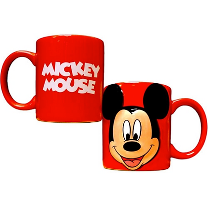 Disney's Mickey Mouse Red Full Face 11 Oz. Coffee Mug