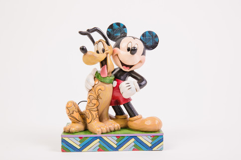 Mickey and Pluto Figurine from Treasure Island Gifts