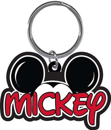 Disney's Mickey Mouse Ears Shaped Keychain