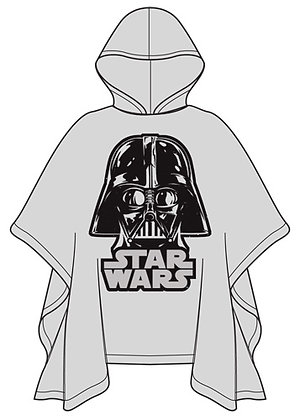 "Disney's ""Star Wars""  Darth Vader Youth Poncho Raincoat"