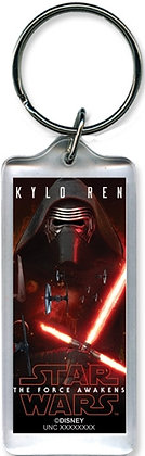 "Disney's ""Star Wars"" Mask Madness Kylo-Ren ""The Force Awakens"" Keychain"