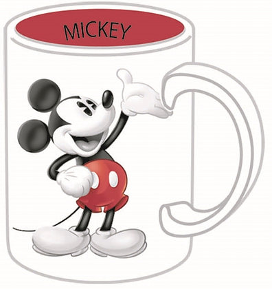 Disney's 'Mickey Mouse' Two Toned 14 Oz. Coffee Mug