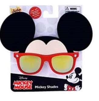 Disney's Mickey Mouse Red Sunstache Sunglasses