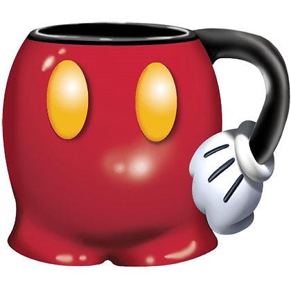 Disney's Mickey Mouse Jumbo 18 Oz Shorts Sculpted Mug