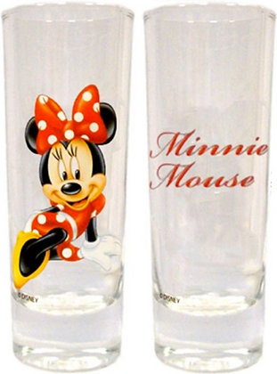 Disney's Sassy Minnie Mouse Collector Glass