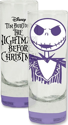 Nightmare Before Christmas Colored Bottom Collector Glass - Dishwasher Safe!