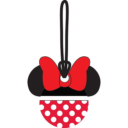 Disney's 'Minnie Mouse' Red & White Polka Dots Luggage Tag