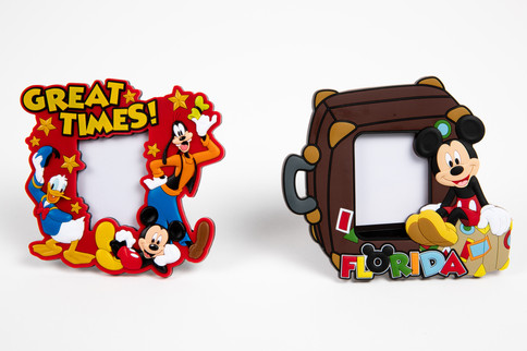 Fun Disney Photo Frame with Goofy, Donald Duck, Mickey Mouse and Florida