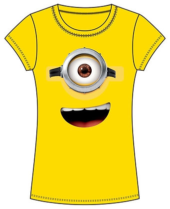 Disney Minions Peep Mix Adult TShirt