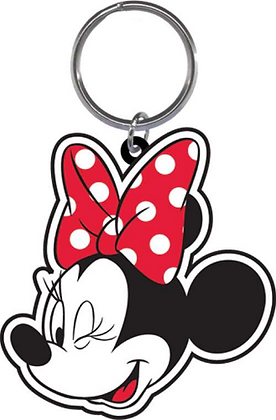 Disney's 'Minnie Mouse' Red & White Wink Keychain